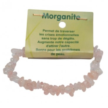 morganite bracelet baroque