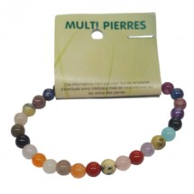 multi pierres bracelet petites boules