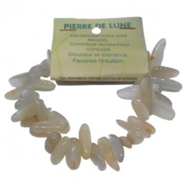pierre de lune grand bracelet baroque
