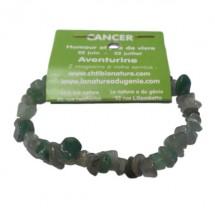 aventurine verte bracelet baroque (cancer)