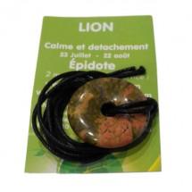 épidote (unakite) donut (lion)