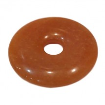 aventurine orange donut