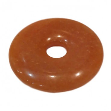 aventurine orange donut