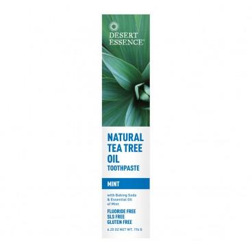 Dentifrice à l'huile naturelle de théier - menthe 176g