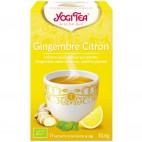 Gingembre citron - infusion ayurvédique aux plantes, 17 sachets