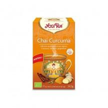 Chaï Curcuma, infusion ayurvédique aux épices 17 sachets