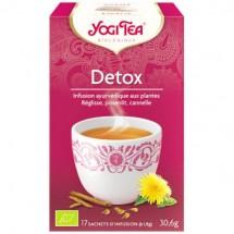 Detox - infusion ayurvédique aux plantes, 17 sachets