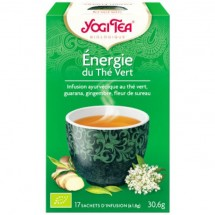 Energie - infusion ayurvédique au thé vert, 17 sachets