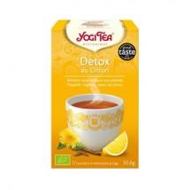 Détox citron bio Infusion ayurvédique 17infusettes - Yogi Tea
