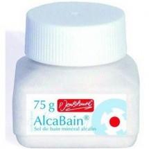 AlcaBain - Sel minéral alcalin pour le soin corporel 75g