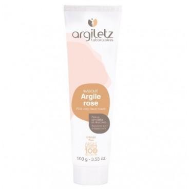 Argile rose - masque 100g