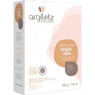 Argile rose - peaux sensibles 200g