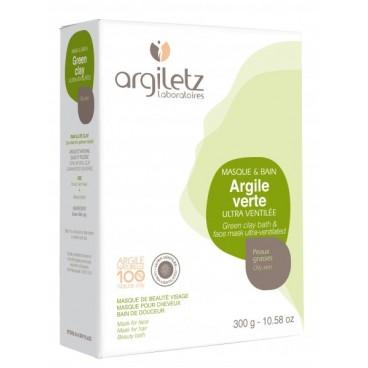 Argile verte ultra ventilée - toutes applications 300g