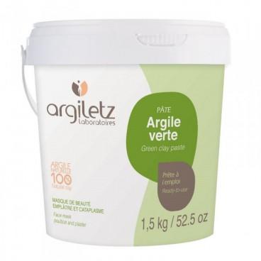 Argile verte - pâte 1.5kg
