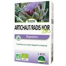 Artichaut / radis noir - digestion - 20 ampoules de 10ml
