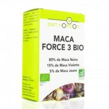 Maca force 3 bio - 60 gélules
