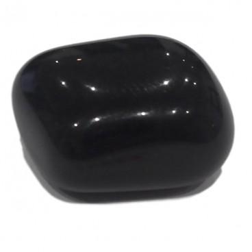 obsidienne argentée galet