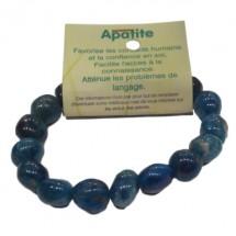 apatite bracelet fantaisie moyens galets