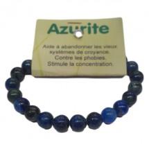 azurite bracelet moyennes boules