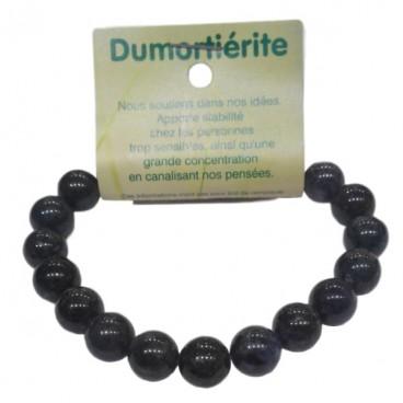 dumortiérite bracelet grandes boules