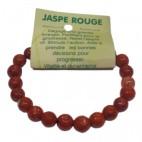 jaspe rouge bracelet moyennes boules