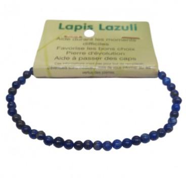 lapis lazuli bracelet très petites boules