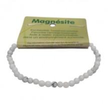 magnésite bracelet très petites boules