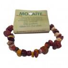 mokaïte bracelet baroque