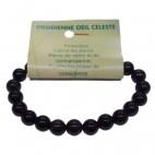 obsidienne oeil céleste bracelet moyennes boules