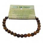 oeil de tigre bracelet petites boules