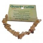 quartz rutile bracelet baroque