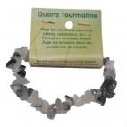 quartz tourmaline bracelet baroque