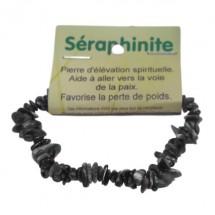 séraphinite bracelet baroque