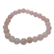 quartz rose bracelet enfant petites boules