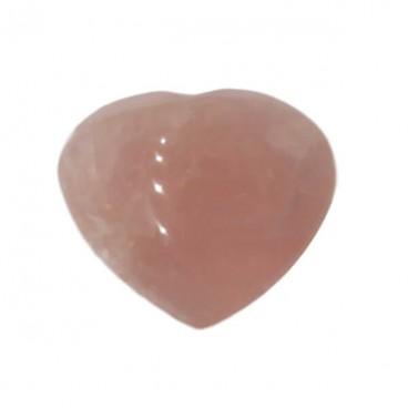quartz rose étoilé coeur
