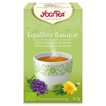Equilibre basique - Infusion ayurvédique BIO, 17 sachets de Yogi Tea