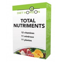 Total nutriments - 6 fruits & légumes - 30 comprimés