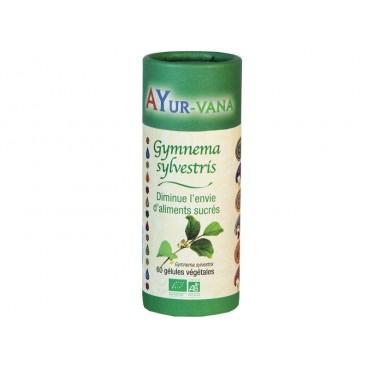 Gymnema sylvestris - diminue l'envie d'aliments sucrés - 60 gélules