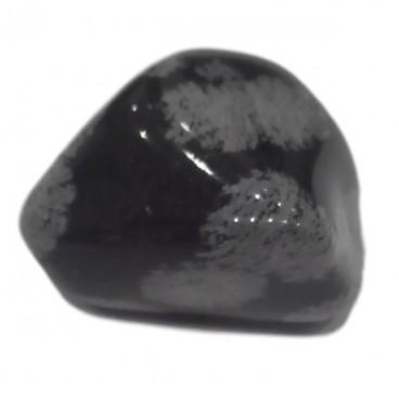 obsidienne mouchetée petit galet