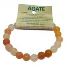 agate bracelet moyennes boules