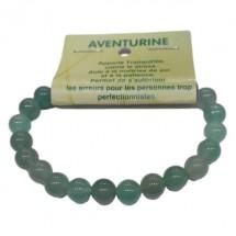 aventurine verte bracelet moyennes boules