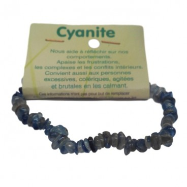 cyanite bracelet baroque