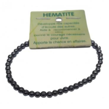hématite bracelet très petites boules